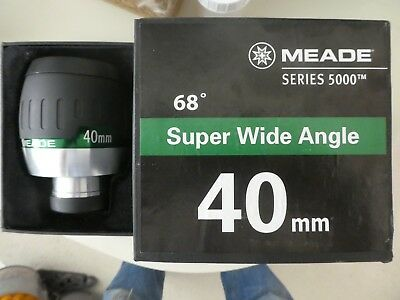 "Meade 5000 series 2"" 68 degree Super Wide Angle 40mm lens - SUPERB"