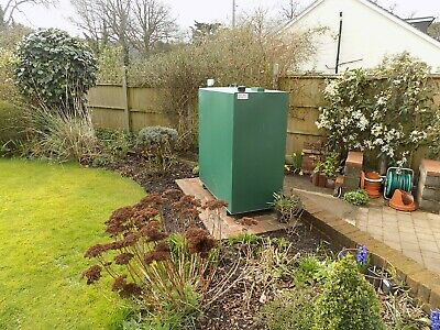 Oil Heating Plastic Tank Installation & Concrete & Paving Slab Bases Fitted *UK*