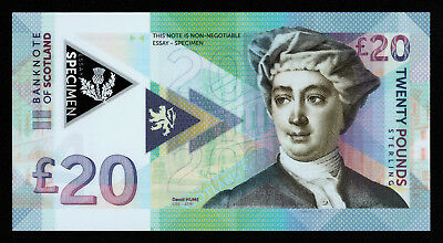 20 pounds Scotland/essay uncirculated banknote design 2018