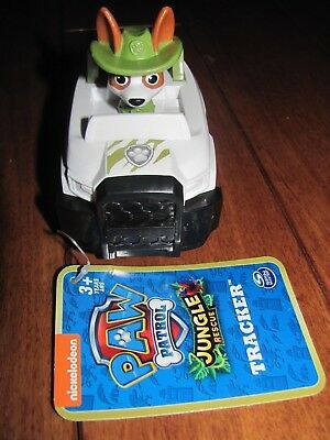 Paw Patrol Jungle Rescue TRACKER Racer Spin Master Nickelodeon NEW with tag