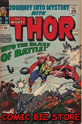 Journey Into Mystery With Thor #117 (1965) Silver Age Marvel 1St Print Fn- 5.5
