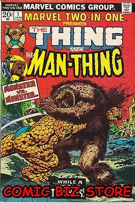 Marvel Two-In-One #1 (1974) Marvel Bronze Age 1St Print Fn+ 7.0  Thing Man-Thing