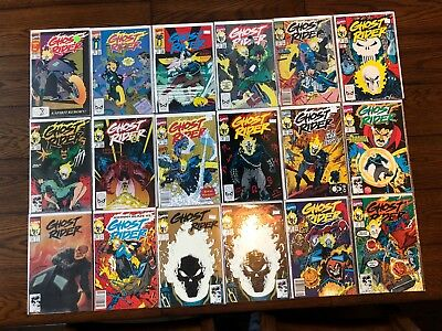 Near Complete Comic Run GHOST RIDER COMICS Collection #1-79 (1990 2nd Series)