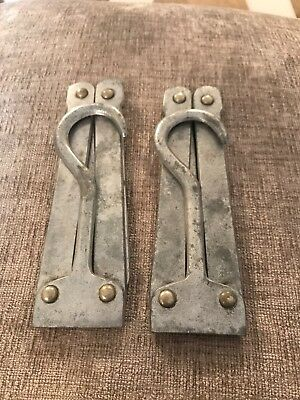 Pair Of Vintage Folding Travel Hangers 1950's 1960's VGC