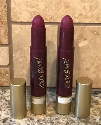 Too Faced Lip Injection Color Bomb Plumping Lip Tint - BIGGER BERRY New LOT x 2