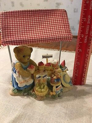 """Cherished Teddies """"Josephine"""" """"There Are Many Fruits Of Friendship"""" Figurine"""