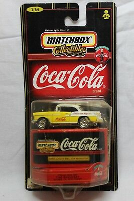 Matchbox 1:64 Scale Coca-Cola Collection 1955 CHEVY BEL AIR HARDTOP