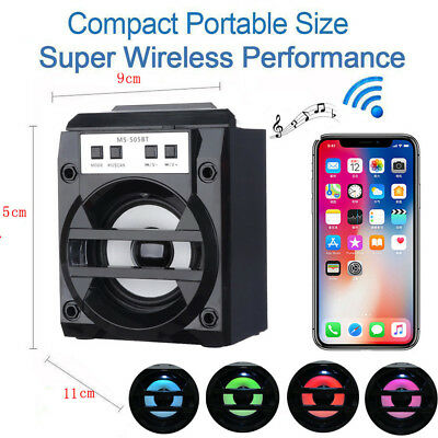 Wireless Bluetooth Speaker Waterproof Bass Portable Outdoor Stereo Loudspeaker C
