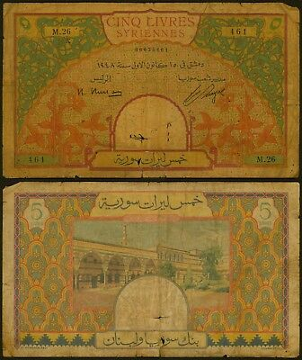 Syria Banknote - Circulated
