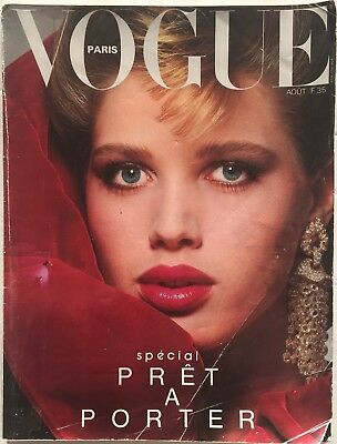 80s vintage Vogue Paris George Hurrell Guy Bourdin David Bowie Alaia Castelbajac