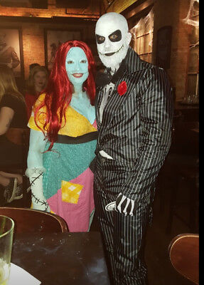 Custom made Jack Skellington & Sally Costumes, Halloween, Nightmare, Unique