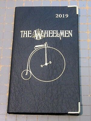 2019 Pocket Pal calendar (genuine by Myron) - w/ highwheel bicycle imprint