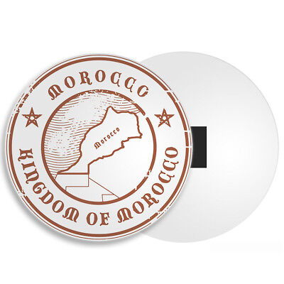 Kingdom of Morocco Fridge Magnet - Moroccan Map Travel Africa Cool Gift #4251