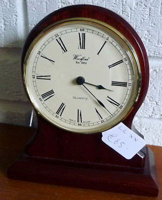 Genuine English Woodford Balloon Mantle Clock - New / Old Stock - See 7 Pics