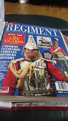 regiment magazines in presentation folder issues one to eleven great condition