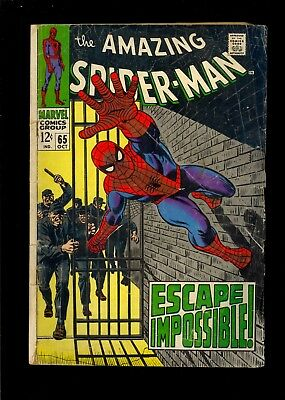 Amazing Spider-Man #68  Low Grade 1968   Comic Kings