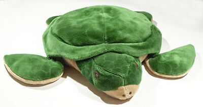 Pier 1 One Imports 23 Large Green Sea Turtle Plush Stuffed Animal