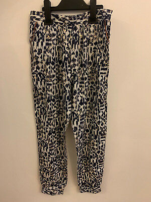 Girls Ex Matalan Candy Couture Zebra Leggings for kids aged 9 - 13 years