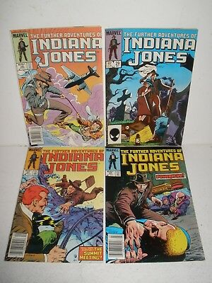 Further Adventures Indiana Jones # 28 29 30 31 Higher Grade Run