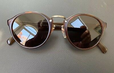 3631a2a5508e Brown transparent sunglasses by FABRIS LANE made in Italy Etalia Hand  Finished