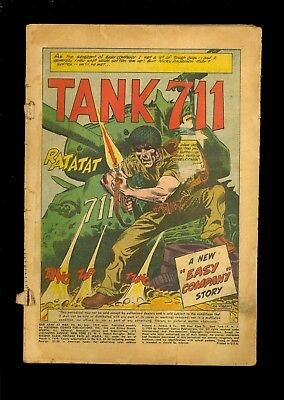 Our Army At War #86 Low Grade Coverless 1959 Easy Company   Comic Kings