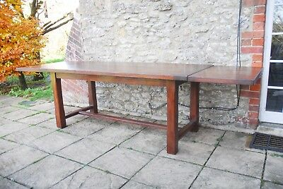 Gorgeous 9.2ft (280cm) Solid Oak French Farmhouse Refectory Dining Table