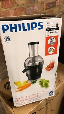 Philips HR1855 Viva Collection Juicer - 700W, Aluminium