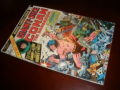 Marvel Comics Giant Size Conan the Barbarian # 5 Nice Copy