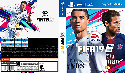 Fifa 19 (Playstation 4 Ps4) Replacement Case, No Game