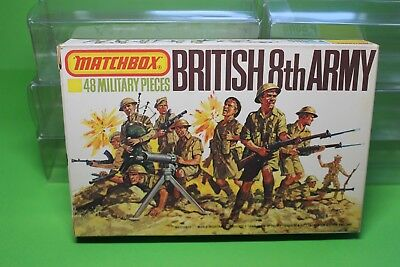Matchbox - British 8th Army, Maßstab 1/76 - komplett, am Gussast mit OVP
