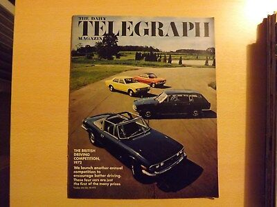 The Daily Telegraph Magazine july 28th 1972 no.404