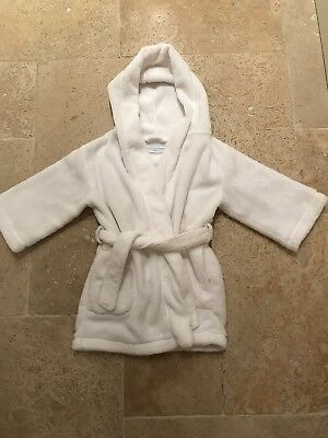 Little White Company White Dressing Gown 18-24 Months