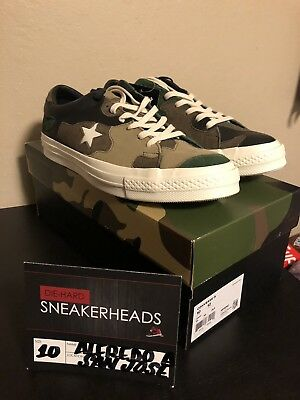 Exclusive Converse x Sneakersnstuff One Star SNS Brown Camo 161406C Size 10 01768bfab