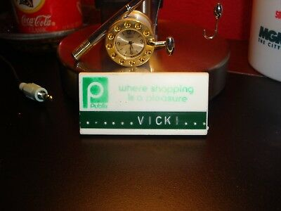 Old Publix nametag from the 80's RARE