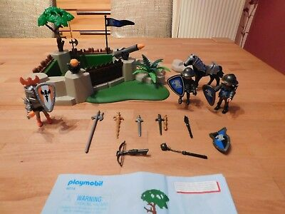 Playmobil 4014 Superset Ritterbastion gebraucht TOP