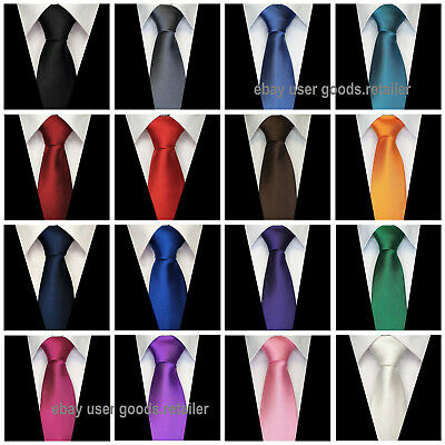 Men's Tie Modern style Striped Dot Check Quality satin Formal Business Wedding
