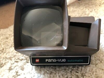 Vintage Pana-Vue By GAF View Master Automatic Slide Viewer