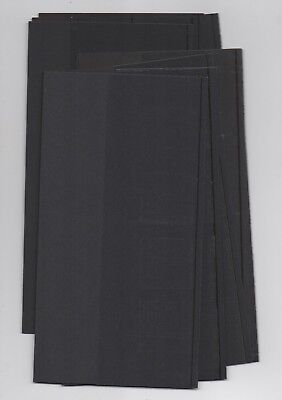 BLACK SLEEVES INSERTS x10 Royal Mail LARGE SIZE 1982-NOW PRESENTATION PACKS  B