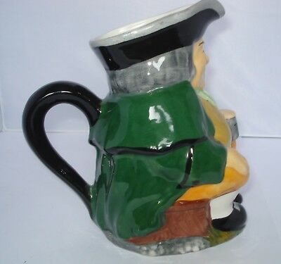 Vintage Carlton Ware Toby Jug - Toby Philpot - Hand Painted