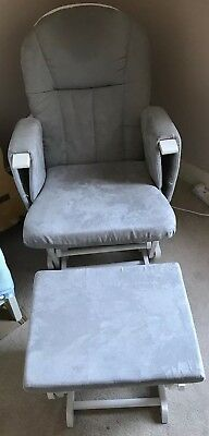 Mothercare Reclining Nursing/Rocking Chair With Rocking Footstool