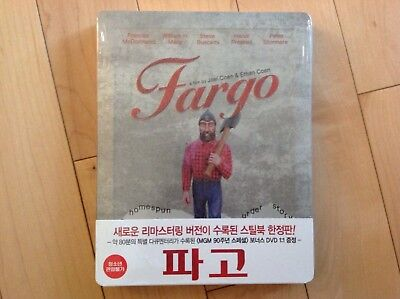 FARGO - Limited Edition Blu-Ray Steelbook - Korea NEW MINT SEALED OOP, OOS