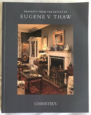 CHRISTIE'S NY - Property from the Estate Of Eugene V. Thaw - October 30, 2018