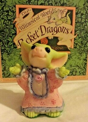 Pocket Dragons Dragon *Mint* - Flannel Nightie - 1999