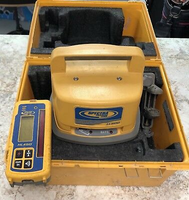 Trimble Spectra Precision LL500 Rotary Laser w/ HL450 Receiver