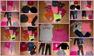 Huge Lot Girls Size 14 16 New , Euc  Justice Crazy 8 , Hoodies Topsjeans  Lot M
