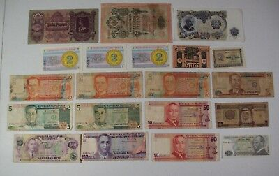 Lot of 20 Mixed Vintage Foreign Currency Paper Money Notes Collection #2