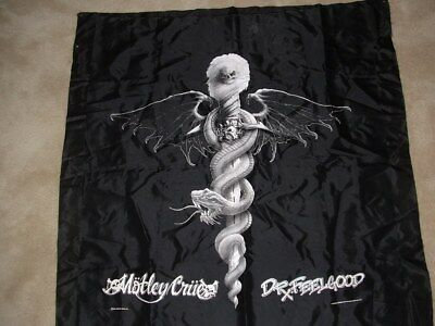 Motley Crue Dr. Feelgood Tapestry Wall 36x36 SIlk