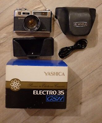 [NEAR MINT IN BOX!!!!!!!] Yashica Electro 35 GSN 35mm
