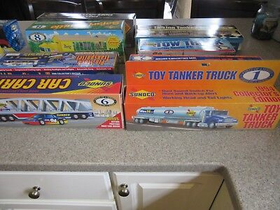 SUNOCO TRUCKS SET of 13!!! 1994-2006 NEW!  ORIGINAL BOXES! COLLECTOR'S EDITIONS