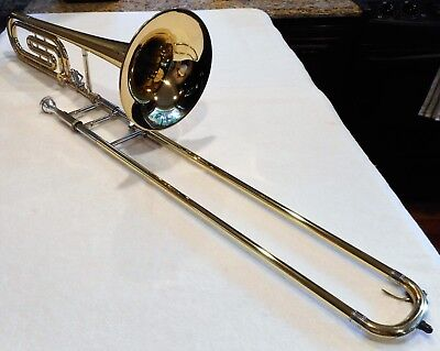 1972 Olds S20 Professional Bass Trombone w/Tuning in slide- Great Shape